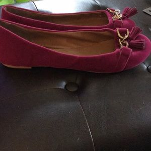 Aldo Shoes - Magenta Suede Flats